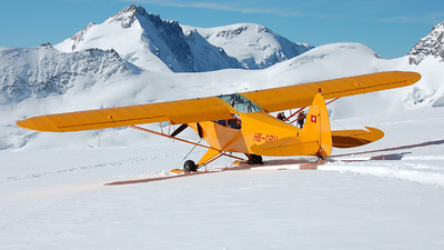 HB-OPH - Piper PA-18-150 Super Cub - Private