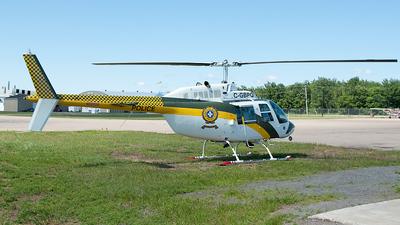C-GBPQ - Bell 206B JetRanger III - Canada - Québec Police