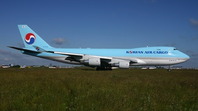 HL7434 - Boeing 747-4B5F(SCD) - Korean Air Cargo
