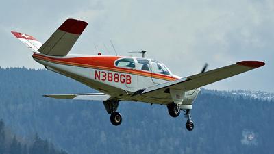 N388GB - Beechcraft C35 Bonanza - Private