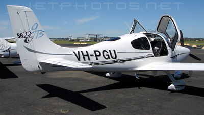 VH-PGU - Cirrus SR22 - Private