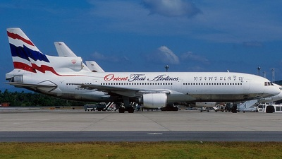 HS-UTA - Lockheed L-1011-1 Tristar - Orient Thai Airlines