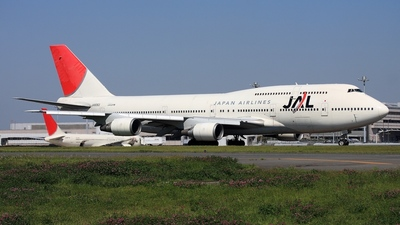 JA8083 - Boeing 747-446D - Japan Airlines (JAL)