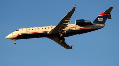 N448AW - Bombardier CRJ-200LR - US Airways Express (Air Wisconsin)