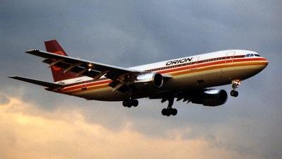 G-BMZK - Airbus A300B4-2C - Orion Airways