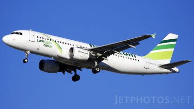 VP-CXX - Airbus A320-214 - Nas Air