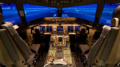 Simulator - Boeing 777-333ER - Delta Air Lines