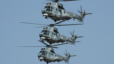 - Eurocopter AS 332C1 Super Puma - Greece - Air Force