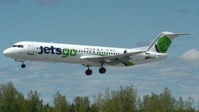 C-GKZA - Fokker 100 - Jetsgo