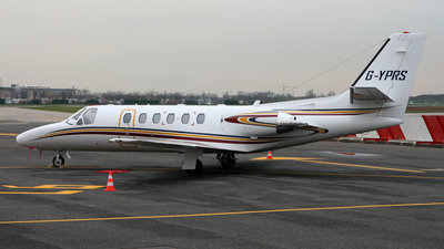 G-YPRS - Cessna 550B Citation Bravo - Executive Aviation Services