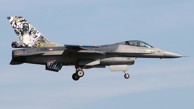 J-008 - General Dynamics F-16AM Fighting Falcon - Netherlands - Royal Air Force