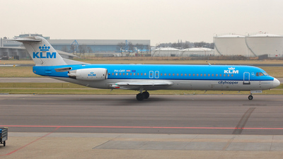 PH-OFF - Fokker 100 - KLM Cityhopper