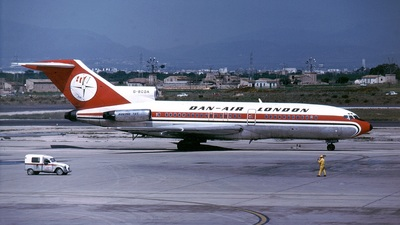 G-BCDA - Boeing 727-46 - Dan-Air London