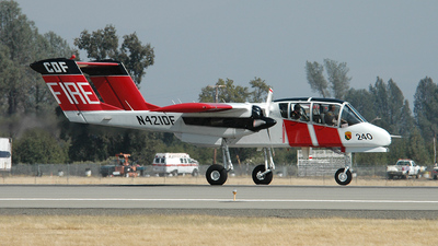 N421DF - North American OV-10A Bronco - United States - California Department of Forestry