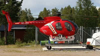 SE-JBU - Hughes 369D - Malmskogens Helikopterleasing