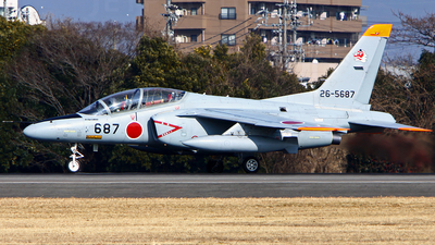 26-5687 - Kawasaki T-4 - Japan - Air Self Defence Force (JASDF)