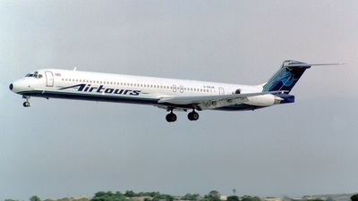 G-GMJM - McDonnell Douglas MD-83 - Airtours International Airways
