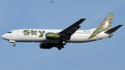 TC-SKM - Boeing 737-49R - Sky Airlines