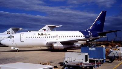F-GHXK - Boeing 737-2A1(Adv) - Bellview Airlines