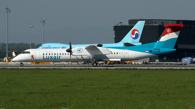LX-LGD - Bombardier Dash 8-Q402 - Luxair - Luxembourg Airlines