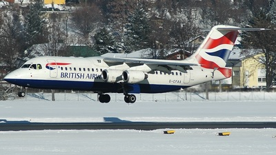 G-CFAA - British Aerospace Avro RJ100 - Brirish Airways (CitiExpress)