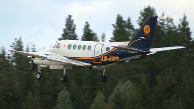 LN-AWB - Beechcraft A100 King Air - Airwing