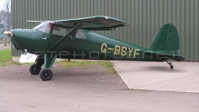 G-BSYF - Luscombe 8E Silvaire Deluxe - Private