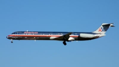 N283AA - McDonnell Douglas MD-82 - American Airlines