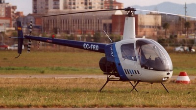 EC-FRO - Robinson R22 Beta - Top Fly