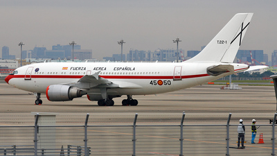 T.22-1 - Airbus A310-304 - Spain - Air Force