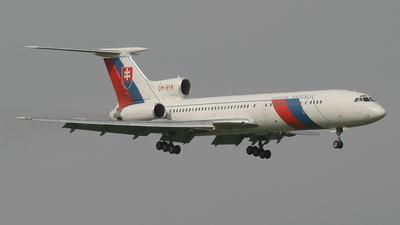 OM-BYR - Tupolev Tu-154M - Slovakia - Government Flying Service