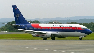PK-CJN - Boeing 737-2B7(Adv) - Sriwijaya Air