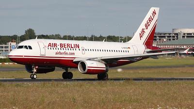 D-ABGB - Airbus A319-132 - Air Berlin