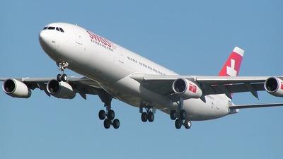 F-WWJJ - Airbus A340-313X - Swiss