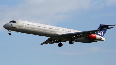 OY-KHR - McDonnell Douglas MD-82 - Scandinavian Airlines (SAS)