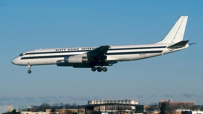N801MG - Douglas DC-8-62H(F) - Kitty Hawk International