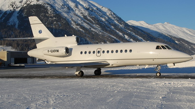F-GXRM - Dassault Falcon 900B - Sea Air Transport