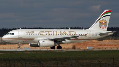 A6-EIE - Airbus A319-132 - Etihad Airways