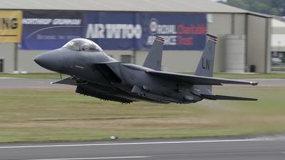 01-2000 - Boeing F-15E Strike Eagle - United States - US Air Force (USAF)