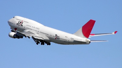 JA8089 - Boeing 747-446 - Japan Airlines (JAL)