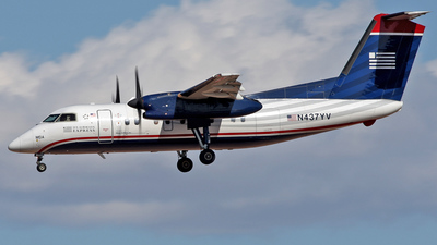 A picture of N437YV - De Havilland Canada Dash 8200 - Berry Aviation - © Jeremy D. Dando