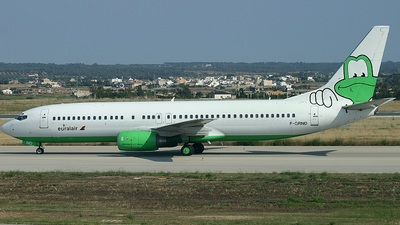 F-GRND - Boeing 737-85F - Euralair International