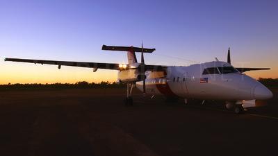 VH-ZZC - Bombardier Dash 8-Q202 - Australia - Customs
