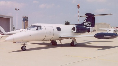 N426TA - Gates Learjet 24B - Private