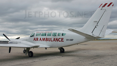 VH-ANP - Cessna 404 Titan - Royal Flying Doctor Service of Australia (SE Section)