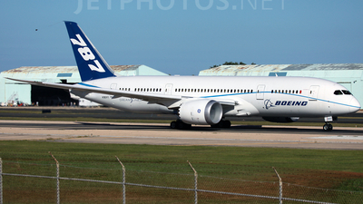 N787FT - Boeing 787-8 Dreamliner - Boeing Company