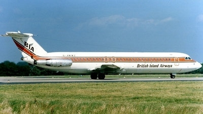 G-AWWZ - British Aircraft Corporation BAC 1-11 Series 509EW - British Island Airways