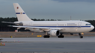 CA-01 - Airbus A310-222 - Belgium - Air Force