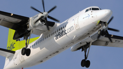 YL-BAZ - Fokker 50 - Air Baltic