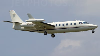 A picture of N34FS - Bombardier CL604 Challenger - [5307] - © Jonathan Morgan
